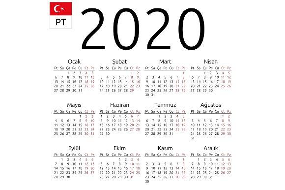 ماه ها و روزهای هفته به ترکی استانبولی