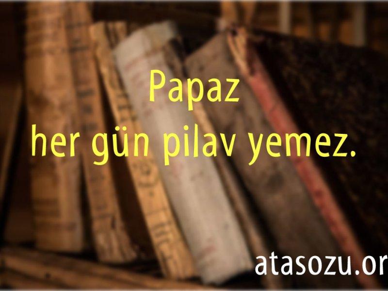 ضرب المثل های ترکی (آتا سوزلری)